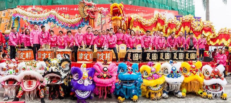 何靖主礼2018年香港龙狮节典礼