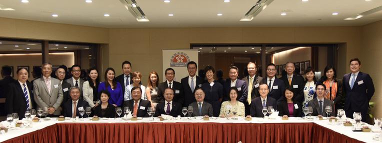王志民应邀出席香港基金晚餐会