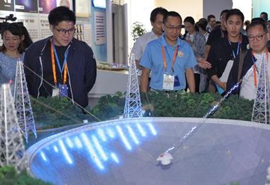 参访团在中国科学院文献情报中心参观